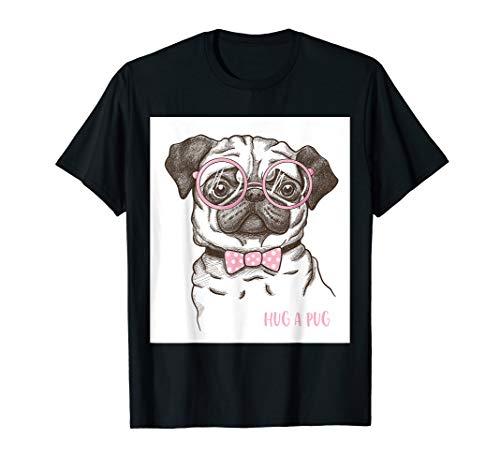 Hug a Pug - Hundeliebhaber Geschenk