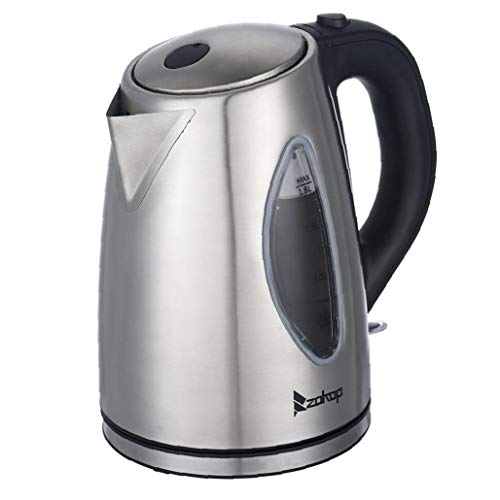 Yililay Electric Kettle, Double Wall 100% Stainless Steel Portable Fast, Electric Hot Water Kettle with Auto Shut-Off for Tea and Coffee.