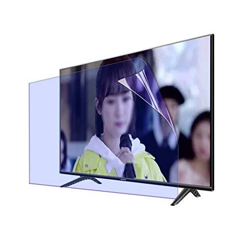 AWSAD Protector Pantalla de TV, 27-75 Pulgadas Filtro de Pantalla por HDTV LCD, LED, OLED Y QLED 4K Aliviar La Fatiga Ocular Luz Azul Anti (Color : Anti-Blue Light, Size : 75 Inch 1645X930mm)