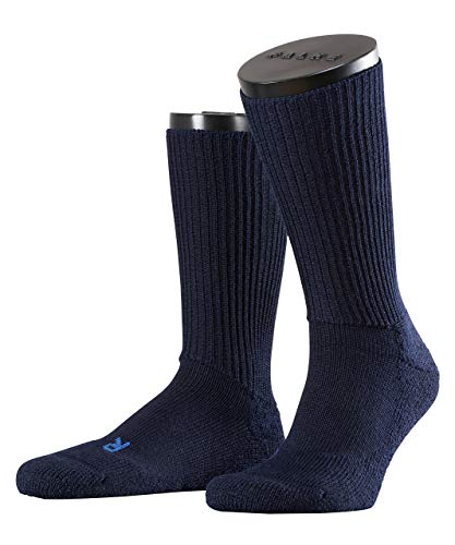 FALKE Unisex Socken Walkie Ergo - Merinowollmischung, 1 Paar, Blau (Marine 6120), Größe: 46-48