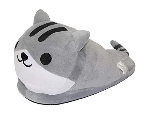 Cosstars Neko Atsume Spiel Süße Katze Cosplay Indoor Hausschuhe Furry Slipper Slip On Shoes Slides Schuhe für Frauen und Männer
