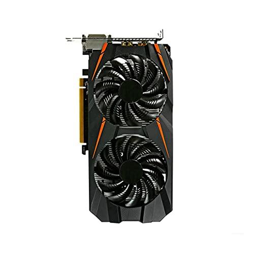 Newwiee Fit for ASUS GIGABYTE GA MSI Tarjeta Raphic GTX 960 2G 4GB 1050TI 4GB 1060 3G 5G Tarjetas de Video GPU Soporte AMD Intel Desktop Gaming Tarjeta gráfica(Color:GA GTX 1060 3G)