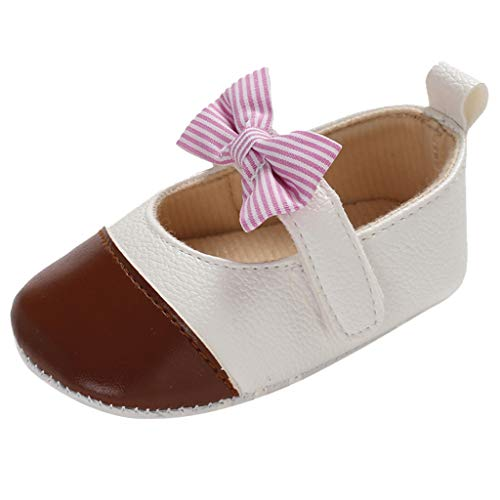 Voberry Baby Shoes,Toddler Infant Baby Girls Bowknot Princess Shoes Sandals Prewalker Footwear