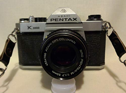 Pentax K1000 Manual Focus SLR Film Camera with Pentax 50mm Lens