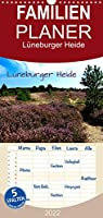 Lueneburger Heide - Familienplaner hoch (Wandkalender 2022 , 21 cm x 45 cm, hoch): Unterwegs in der Lueneburger Heide zwischen Klecken und Pietzmoor (Monatskalender, 14 Seiten )