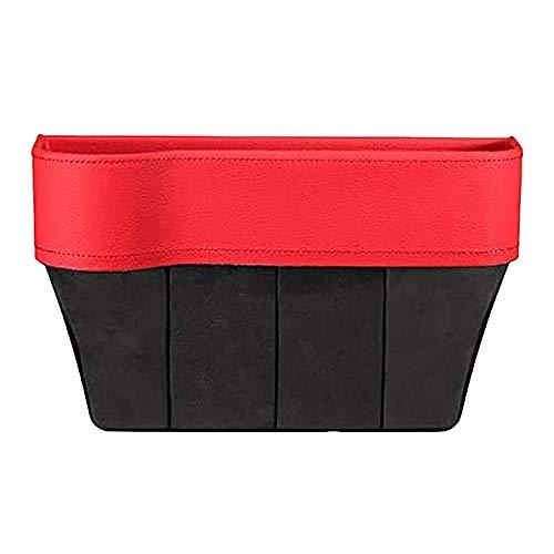 Tonyzhou Co.,ltd Auto Universal Fahrerseite Sitzplatz Aufbewahrungsbox Für Pocket Organizer Telefonhalter Rot