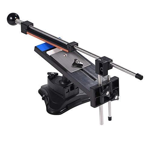 Fixed Angle Sharpener Kits, Küchen Messerschärfer, Sharpemaker Kits Festwinkel Anspitzer Kits Professionelle Küchenmesser Schärfsteine Fixed Winkel Sharpener mit 4 Schleifsteinen