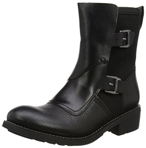 G-STAR RAW Damen Labour Buckle Biker Boots, Schwarz (Black), 37 EU