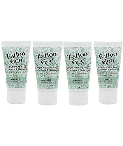 Tattoo Goo 'Deep Cleansing Soap for Tattoos & Piercings 2oz Special' - Four (4)