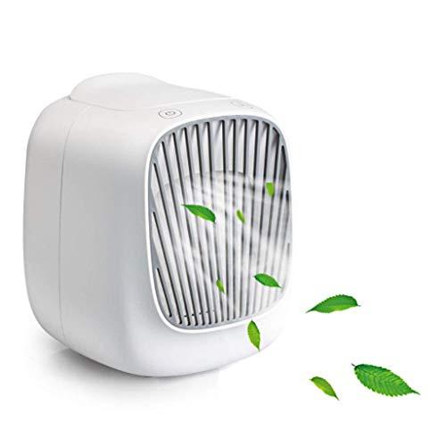 LY88 Draagbare Airconditioning, USB Persoonlijke Ruimte Luchtkoelers Ventilator, Mini Desktop Luchtbevochtiger, Oplaadbare Verdampende Airco Met 3 snelheden Voor Office Thuis Zomer Buiten