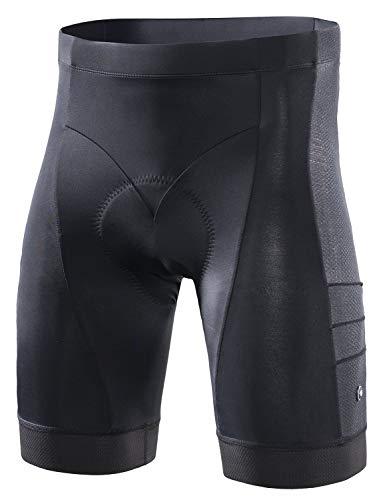 RION Men s Cycling Padded Shorts Bike Tights Bicycle Pants