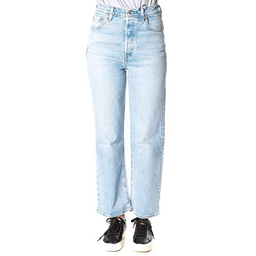 Levi's Jeans Donna Ribcage Straight Ankle 72693.0019 (25-0019 Jive Swing)