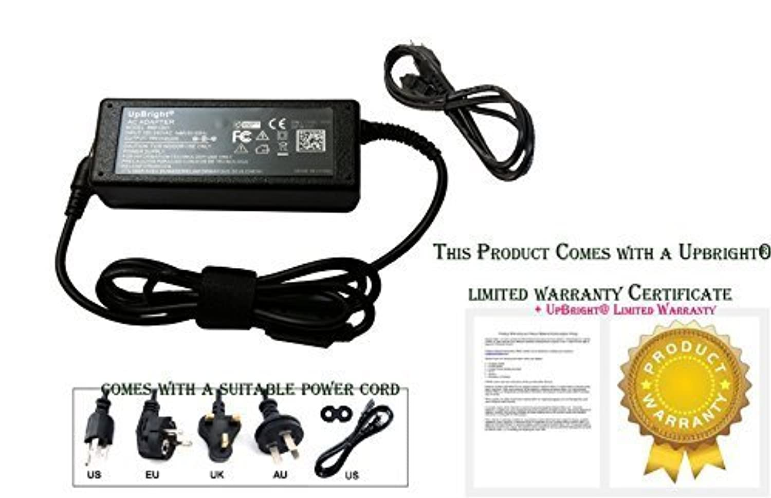 UpBright NEW Global AC / DC Adapter For HP TPC-DA561 TPCDA561 Laptop Notebook PC Switching Power Supply Power Supply Cord Cable PS Battery Charger Mains PSU