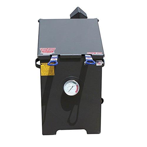 R&V WORKS FF2S Carbon Steel Material 6 Gallon 2 Basket Fryer - No Stand