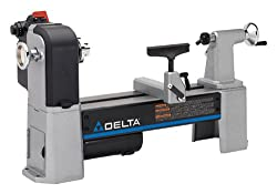 The Delta Industrial 46-460 benchtop wood lathe