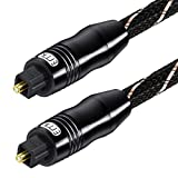 Best Optical Audio Cables - Optical Cable Ultra Clear Sound Transmission Digital Optical Review