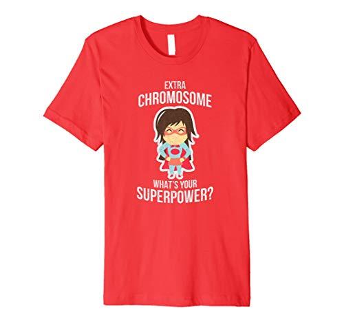 Die Daunen-Syndrom Bewusstsein T-Shirt CO–Ihre Supermacht Tee