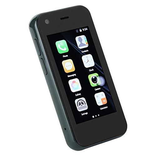KUIDAMOS Mini Teléfono Inteligente, Tarjetas Duales, Doble Modo De Espera, Resolución De Alta Definición, Teléfono XS11 De 2,5 Pulgadas para Dispositivo De Repuesto para Llamadas(Verde)