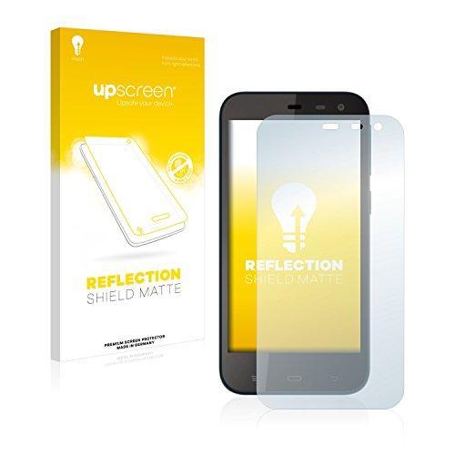 upscreen Entspiegelungs-Schutzfolie kompatibel mit Phicomm Clue M – Anti-Reflex Bildschirmschutz-Folie Matt