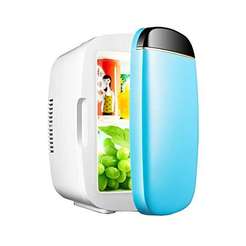 TUNBG Electric Cooler mini-koelkast, 6 l, draagbare verwarming/koeling, 12 V en 220 V, voor auto en camping, met netsnoer