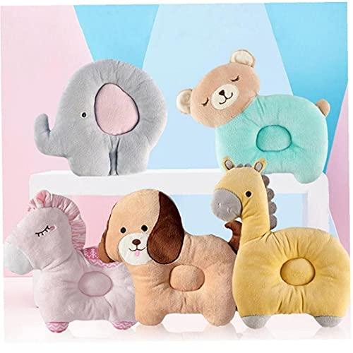 Ruluti 1pc del Animal del Bebé Almohada Anti-vuelco Reposacabezas Almohada Esenciales para Bebé