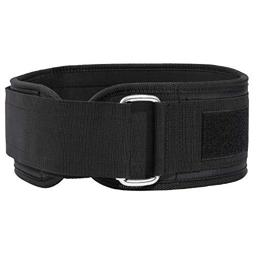 Oxford Street Cinturón Lumbar Gimnasio, Cinturon Gimnasio Hombre y Mujer, Cinturon Halterofilia,Levantamiento Peso, Musculacion-Firme y cómodo Lesiones Lumbar Apoyo con protección (37-44in)