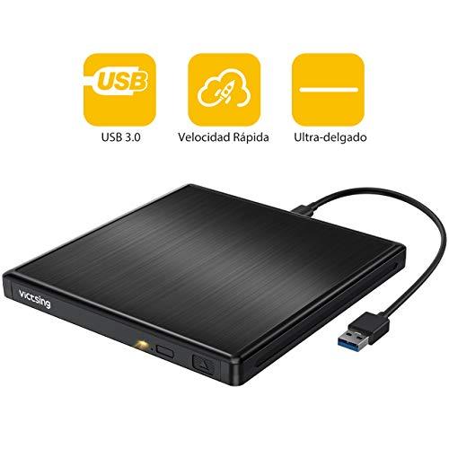 Unidad Externa Portatil con USB 3.0 (Negro)