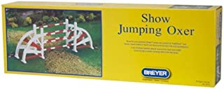 Breyer Show Jumping Oxer Jump - Red and White