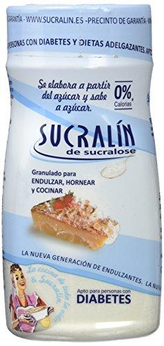 Sucralin Granulado para Diabeticos, 190 gr