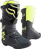 Fox Racing Mens COMP Motocross Boot,Black/Yellow,10