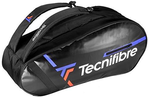 Tecnifibre Tour Endurance 6R - Saco de Tenis para Adulto, Negro, para 6 Raquetas