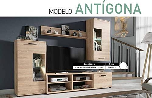 Conjunto de Muebles de televisión para salón Color Cambrian Ref-06
