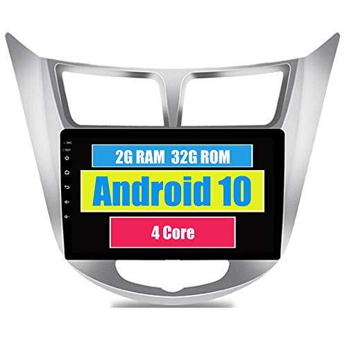 RoverOne Android 7.1 Système Pour Hyundai Solaris Verna Accent I25 Autoradio avec Autoradio Stéréo Navigation GPS Bluetooth HDMI MirrorLink Quad Core Système multimédia