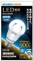 三菱 オスラム LED電球 PARATHOM 全方向タイプ 900ルーメン E26口金 昼光色 LDA11D-G/D