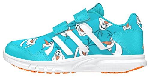 adidas Jungen Disney Frozen CF C Turnschuhe, Azul (Azuvap/Ftwbla/Eqtnar), 35 EU