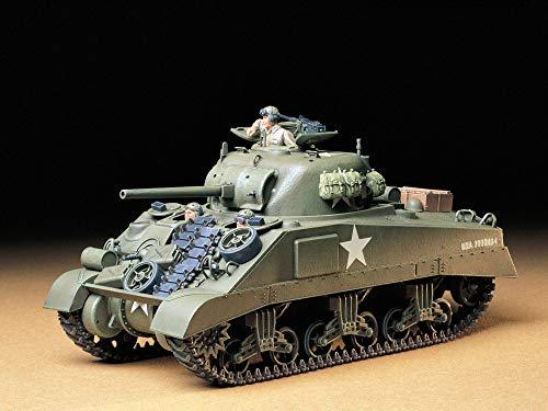 Tamiya 300035190 - Carro Armato Militare Americano M4 Sherman FR (3), Scala: 1:35