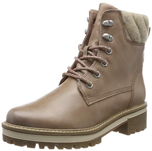 Tamaris Damen 1-1-26250-23 Combat Boots, Pink (Rose 521), 40 EU