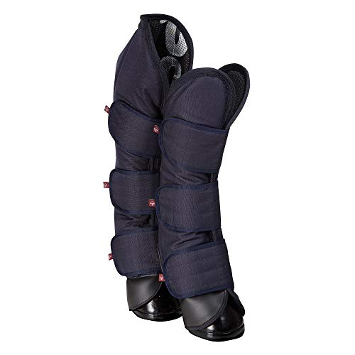 LeMieux Travel Boots Navy, Unisex-Adult, Large