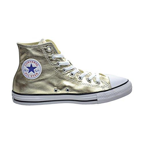 Converse, Chuck Taylor Allstar Speciality, hoher Schnürschuh für Jugendliche, - LIGHT GOLD WHITE BLACK - Größe: 48 EU (M)