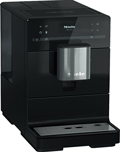 Miele CM5300 Bean-to-Cup Coffee Machine, 1.5 W, Obsidian Bl
