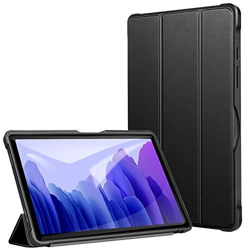 ZtotopCase Hülle für Samsung Galaxy Tab A7,Ultra Dünn Leicht Smart PU Schutzhülle,mit Auto Schlaf/Wach Funktion,Case Cover für Samsung Galaxy Tab A7 10.4 Zoll 2020 Tablet,Schwarz