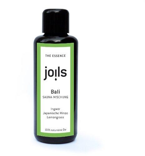 JOILS Sauna-Aufguss BALI, naturrein, 100ml, 100% naturreines Öl für Ihre Sauna, Saunaöl, ätherisch und biologisch
