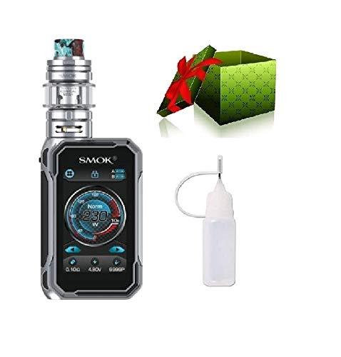 Smok G-Priv 3 230W Luxe Edition E-zigarette Starterset TC Vape Box Mod TC kit E-Zigarette-OHNE NICOTINE (Prisma Chrom)