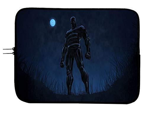 15 Inch Black Panther Laptop Sleeve Bag Laptop Case Mousepad Surface MacBook Pro/MacBook Air Sleeve Case - Water Repellent Neoprene Case