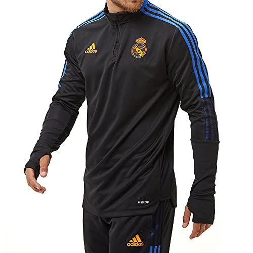 adidas Real TR Top Sweatshirt, Mens, Black, L
