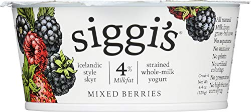 (NOT A CASE) 4% Whole Milk Strained Yogurt Mixed Berries