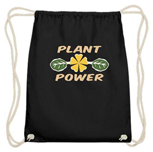Spiritshop, Plant Power, Plant Powered, Plant Based, Veganistisch, vegetariërs, plantaardige voeding - Katoen Gymsac