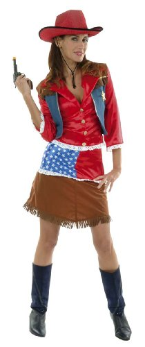 Cesar - D319-005 - Costume - Cowgirl USA - T 40 cm