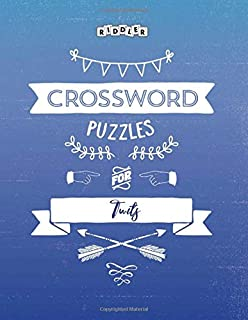 Crossword Puzzles for Twits