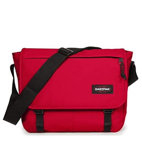 Eastpak Delegate+ Umhängetasche, 39 cm, 20 L, Rot (Sailor Red)